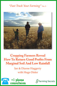 Cropping Farmers Reveal How To Return Good Profits
