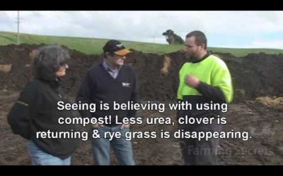 Camperdown Dairy farmers get great results from Compost Part 3 of 4