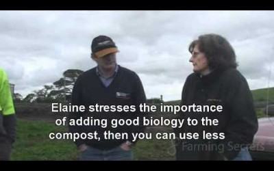 Camperdown Dairy farmers get great results from Compost Part 1 of 4