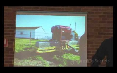 Gary Zimmer – Dig a hole and observe the subsoil and aerate Part 4 of 5