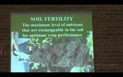 Gary Zimmer: What is Soil Fertility? Part 1 of 5