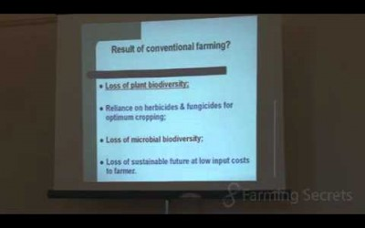 Soil Facts: What are the Results of Conventional Farming? Part 4 of 4