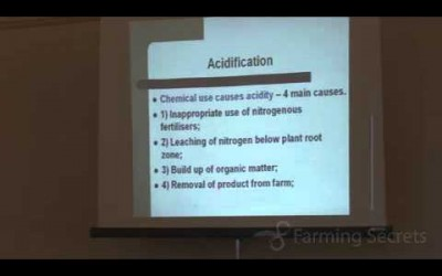 Soil Facts: What Causes Soil Acidification? Part 3 of 4