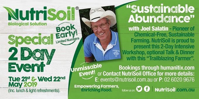 Sustainable Abundance with Joel Salatin
